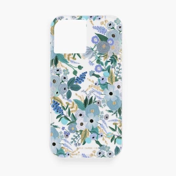 Rifle Paper Co. Garden Party Blue iPhone 12 Case